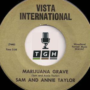Marijuana grave
